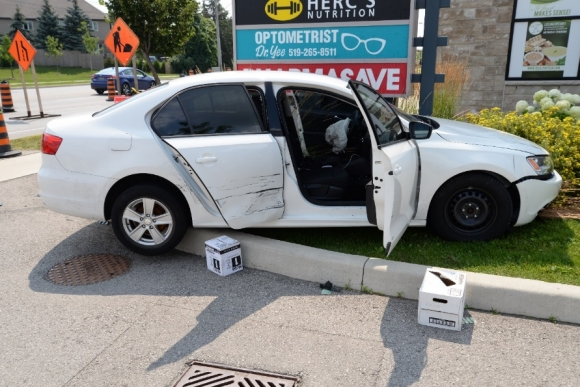 Image of Jetta involved in collision