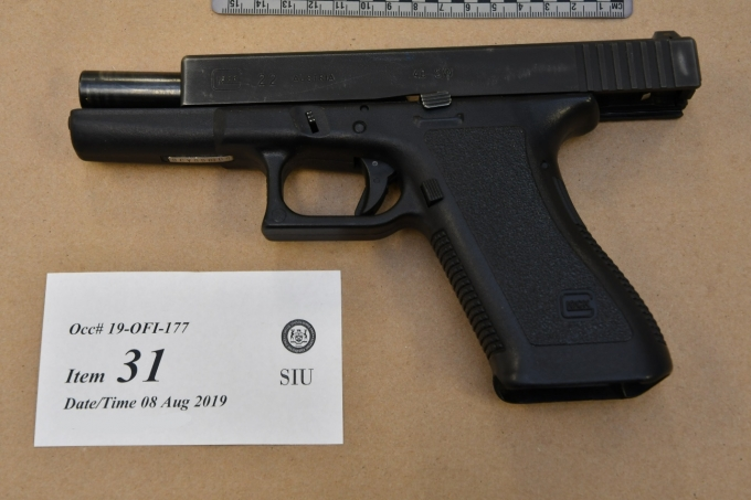 Figure 5 - SO #1's Glock pistol.