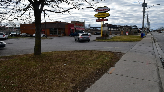Figure 1 - The Tim Hortons where the incident occurred.